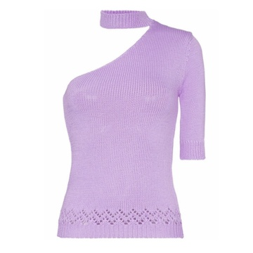 Good Quality One-Shouldered Sweater For Ladies