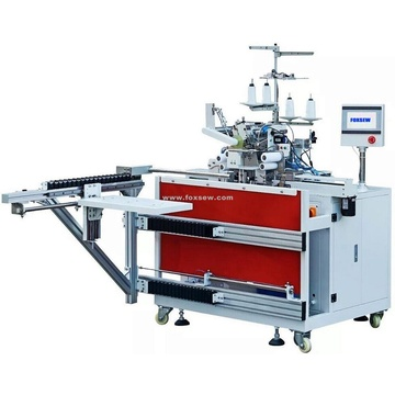 Automatic Rib Knit Band Setting Station