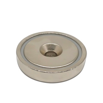 Heavy Duty Neodymium Round Base Pot Magnets