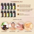 10ML 12Flavor Floral Essential Oil for Diffuser Aromatherapy Oil Pure Aroma Oil Lavender Tea Tree Oil Help Sleep