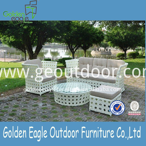 Garden Aluminium Sofa Furniture Sunbrella Fabric