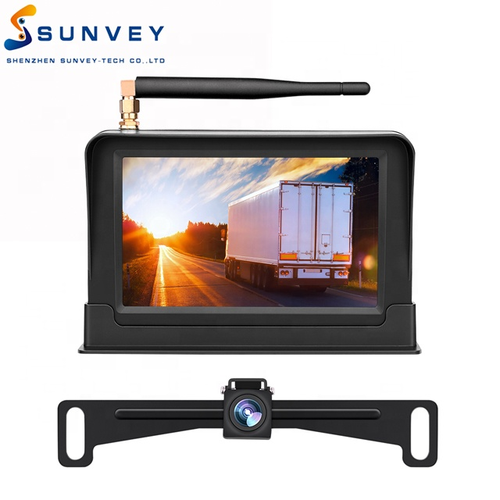 effective range digital wireless surveillance backup camera