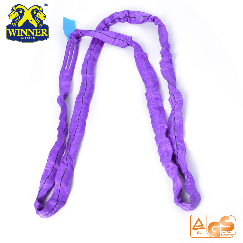 Heavy Duty 1Ton Endless Polyester Round Sling