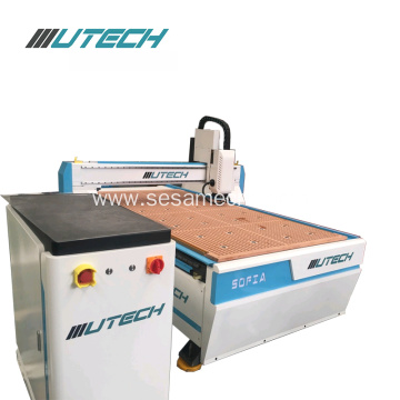 Vacuum Table 3D Wood CNC Router with CCD