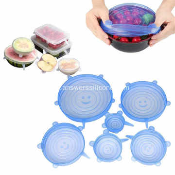 BPA Free Cover Universal Silicone Stretch Lids Cover