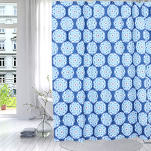 Shower Curtain Polyester Mum Flower