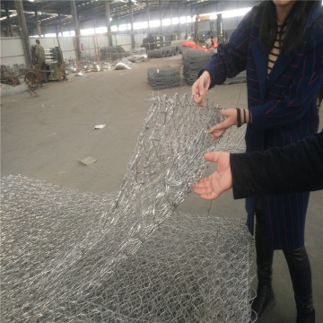 Heavy Galvanized Gabion Wire Mesh