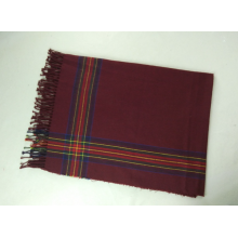 Imitation Cashmere Plaid Fahion And Warm Woven Scarf