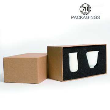 Custom carton box for cup with logo print