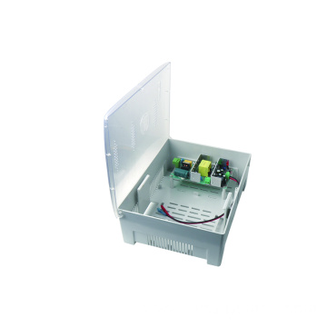 Plastic Box Power Supply  For CCTV cameras