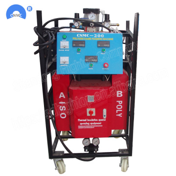 380V 9.5KW Spray Foam Insulation Equipment For Roofing