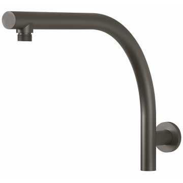 Gun Metal Gray Brass Shower Arm