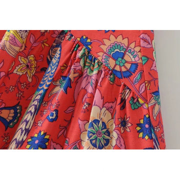 Holiday Style Beach Skirt Medium Long Skirt