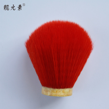 red shaving brush set