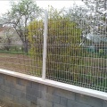 High Quality Powder Coated Welded Panel Fence