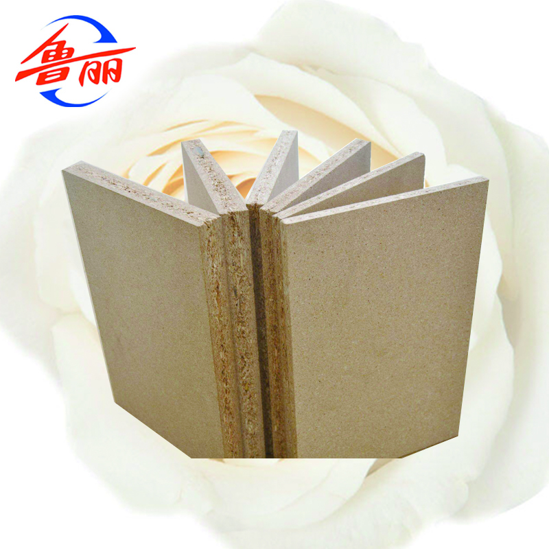 Package plain particle board