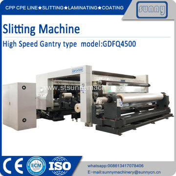 SUNNY MACHINERY slitting machinery GDFQ4500