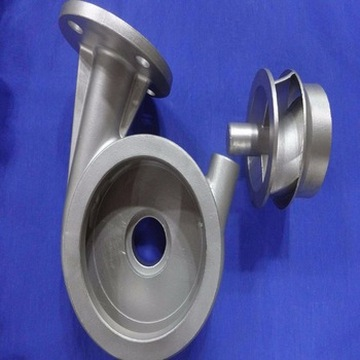 Auto water pump body precision metal casting