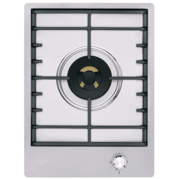 Kitchenaid Gas Hobs 1 Burner Stainless Steel