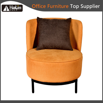 Modern Fabric Home Office Sofa Chair with Cushion