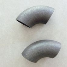 Erw short carbon steel elbow