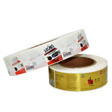 Healthy food label sticker printing