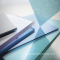 Plastic material sheet embossed clear polycarbonate sheet
