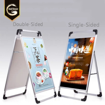 Custom A-Frame Poster Holders A-Board Pavement Signs
