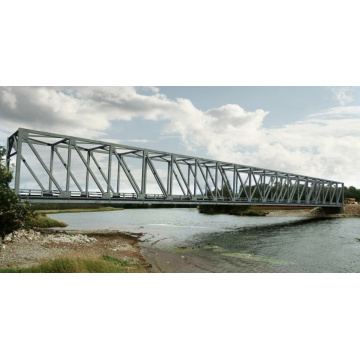 Steel Structure Prefabricated Fabrication for Truss Bridge