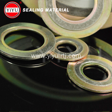 SS316 graphite Spiral Wound Gasket with IR and OR