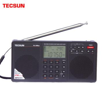 Tecsun PL-398MP Portable Radio 2.2'' Full Band Digital Tuning Stereo FM/AM/SW Radio Receiver MP3 Player Internet Fm Radio