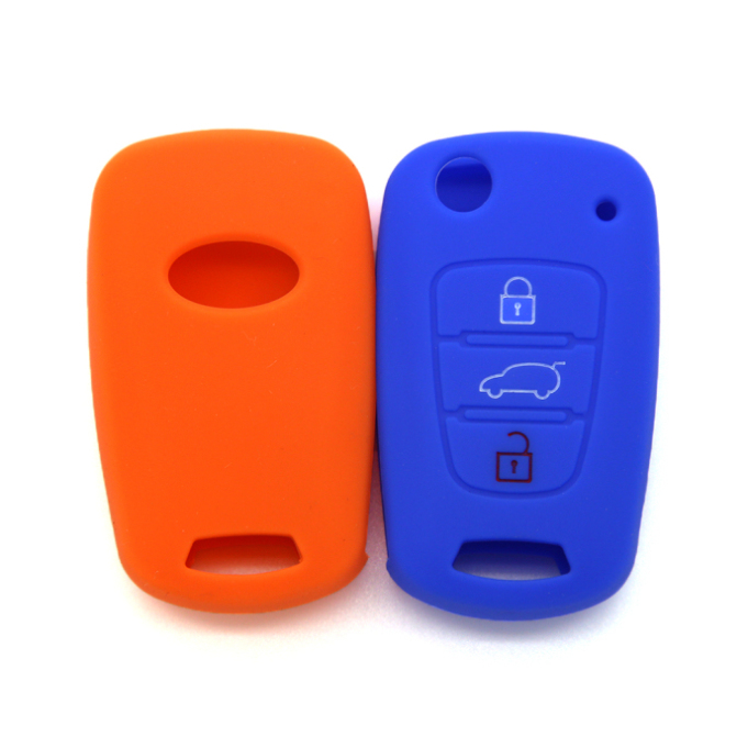 KIA 3 buttons car key case