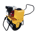 walk behind single drum hand mini road roller