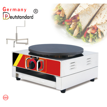 Single Gas Crepe Cake Making Machine