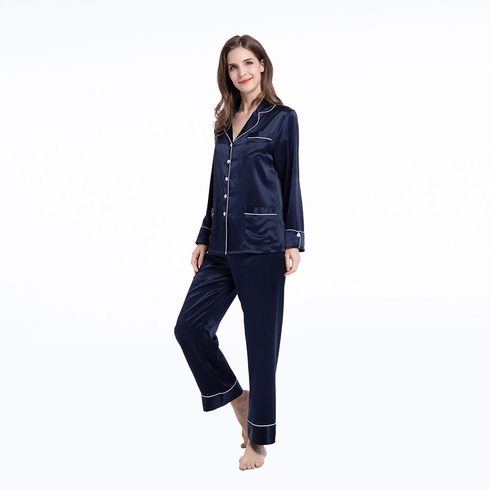 Silk Pajamas Women Sets