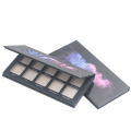 Eco cosmetic packaging eye shadow palette