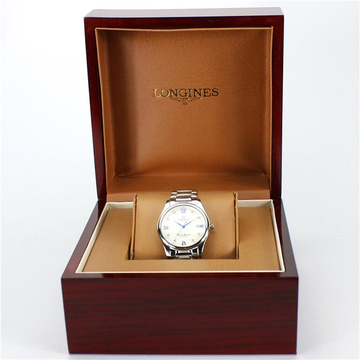 Luxury Men Wrist Watch Wooden Box With Pillow