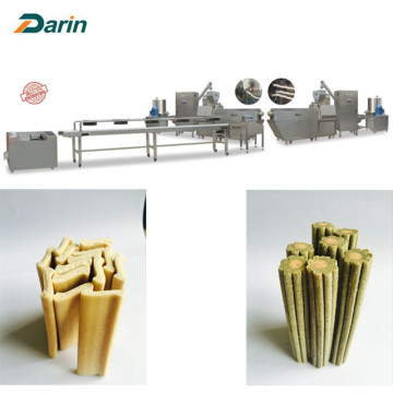 Dental Delicious Twisted Dog Chews Extruding Line