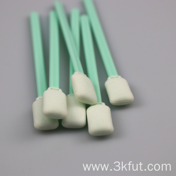 High Cleaning Ability Rectangle Cleanroom Foam Tip Swab