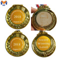 Personalized custom made logo sticker medals