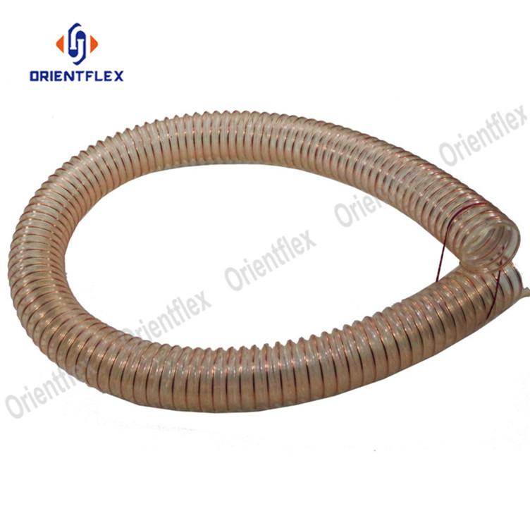 Pu Steel Duct Hose 2