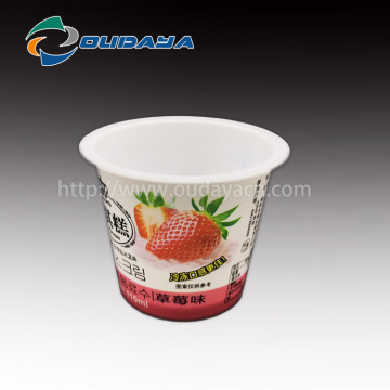 Customized Ice Cream Cup Yogurt Cup with Spoon