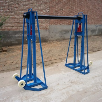 5T 10T Heavy Load Hydraulic Cable Reel Stand