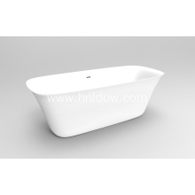 Pure Acrylic Modern White FreeStanding Bathtub