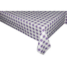 Elegant Tablecloth with Non woven backing Card