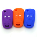 Silicone rubber colorful key covers for car