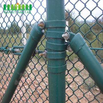 Cheap Diamond Wire Mesh Fence Chain Link Fence