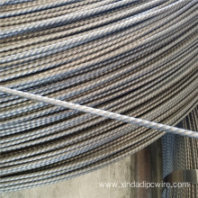 5MM 1670MPa Spiral Ribs Prestressed Concrete Wire