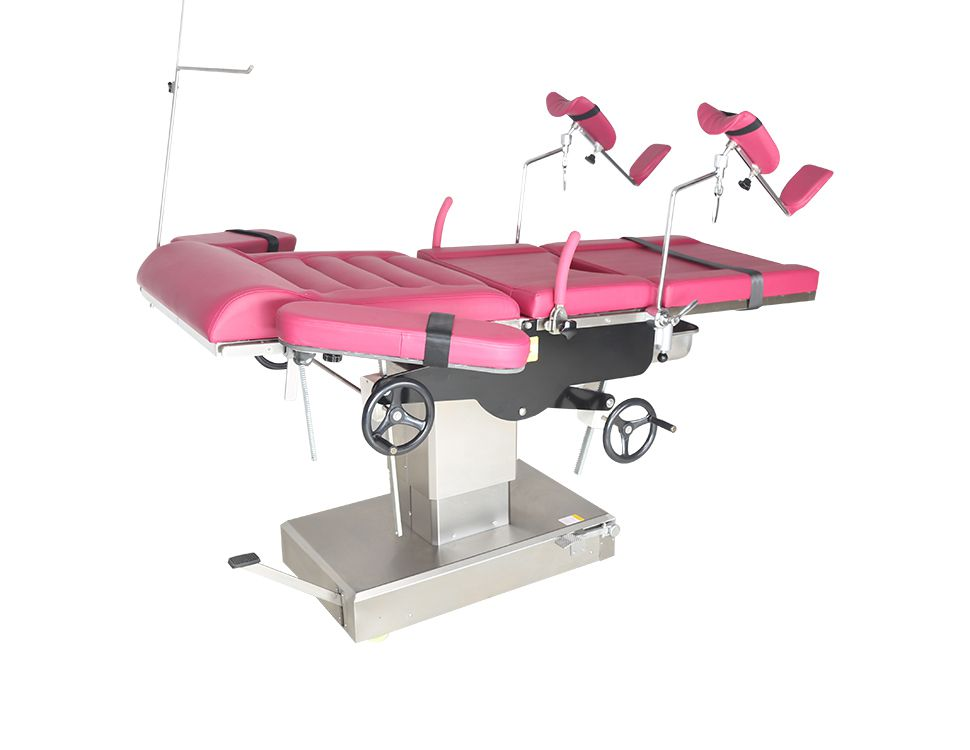 Hospital electric operation theater table