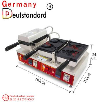 Double head dgital Taiyaki maker machine for sale